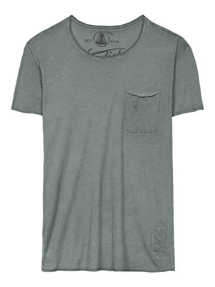 Herrlicher Ronny T-Shirt mit Brusttasche