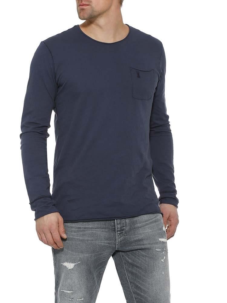 Herrlicher Ron Jersey Langarmshirt