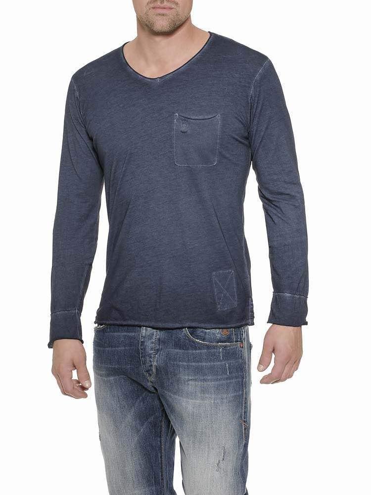 Herrlicher Runner Jersey Langarmshirt