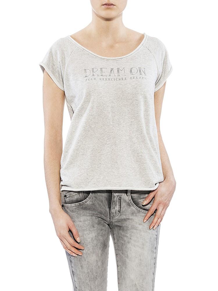 Herrlicher Bellina Sweat Shirt grau vorne