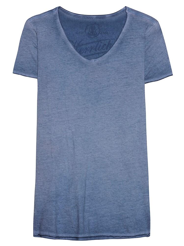 Herrlicher Luana Jersey Shirt dunkelblau