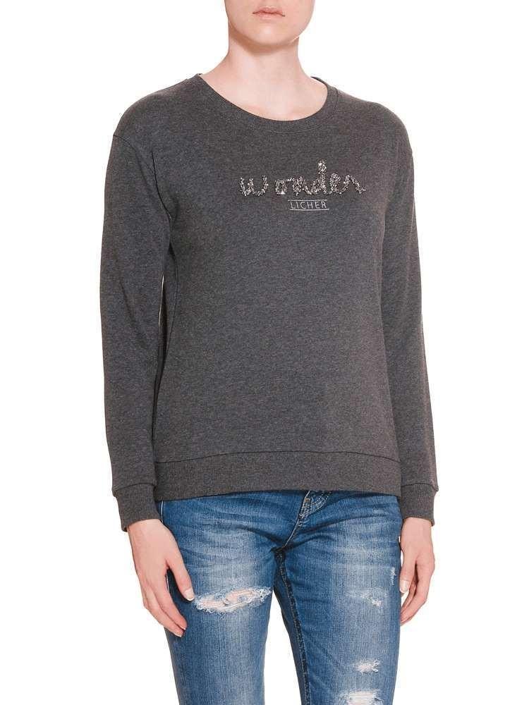 Herrlicher Anetta Sweatshirt grau