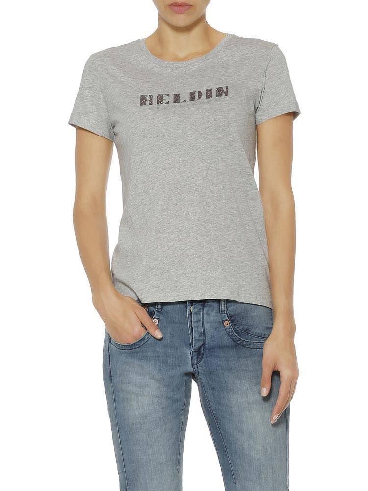 Herrlicher Kendall Jersey T-Shirt mit 3D-Print