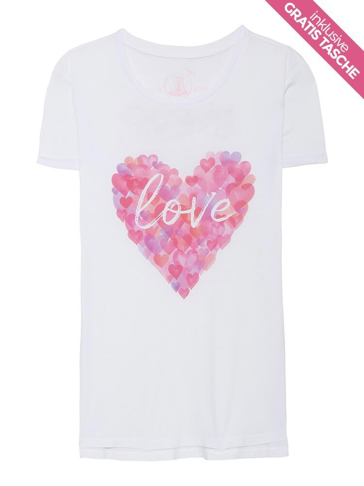 """Herrlicher Kendall T-Shirt """"Valentine's Day"""""""