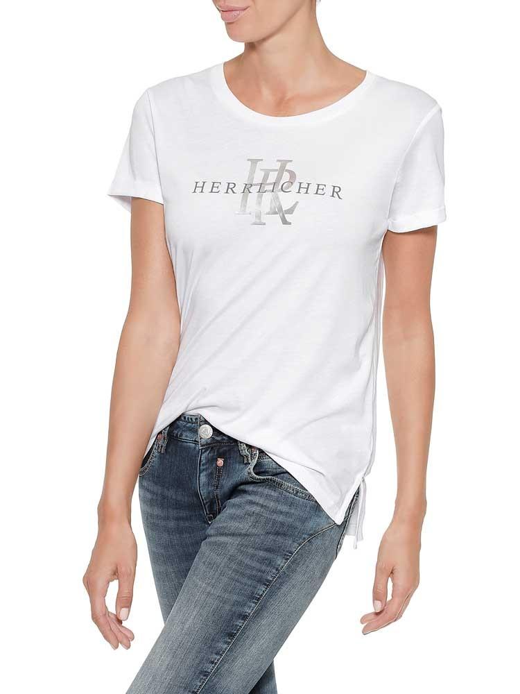 Herrlicher Kendall T-Shirt mit Logoprint