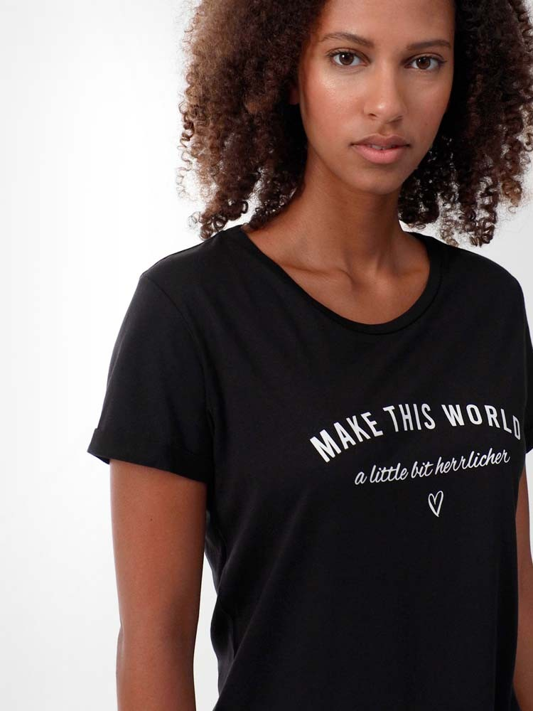 Herrlicher Kendall T-Shirt mit Print