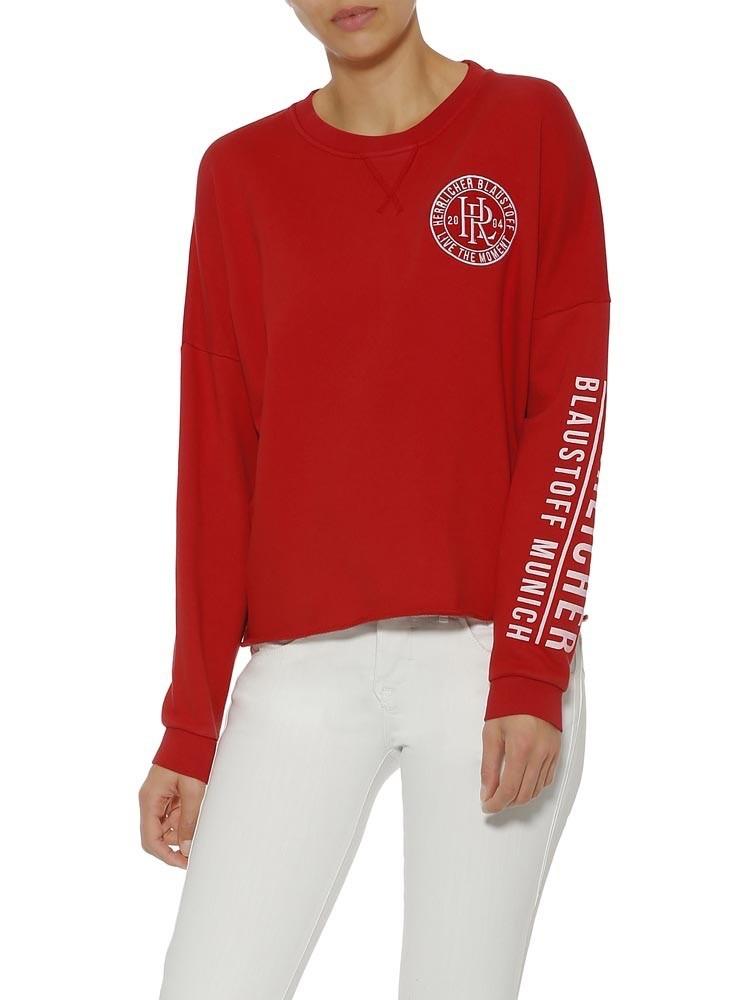 Herrlicher Smila Sweatshirt im College Look