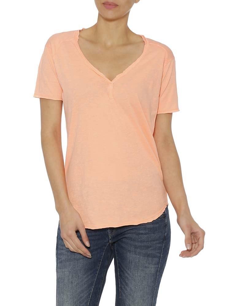 Herrlicher Seleen Flame Jersey T-Shirt