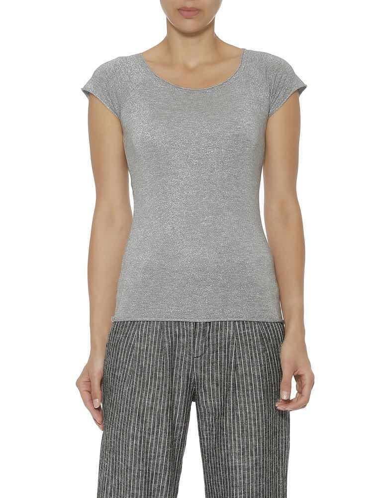 Herrlicher Valene Jersey T-Shirt mit Glitzer