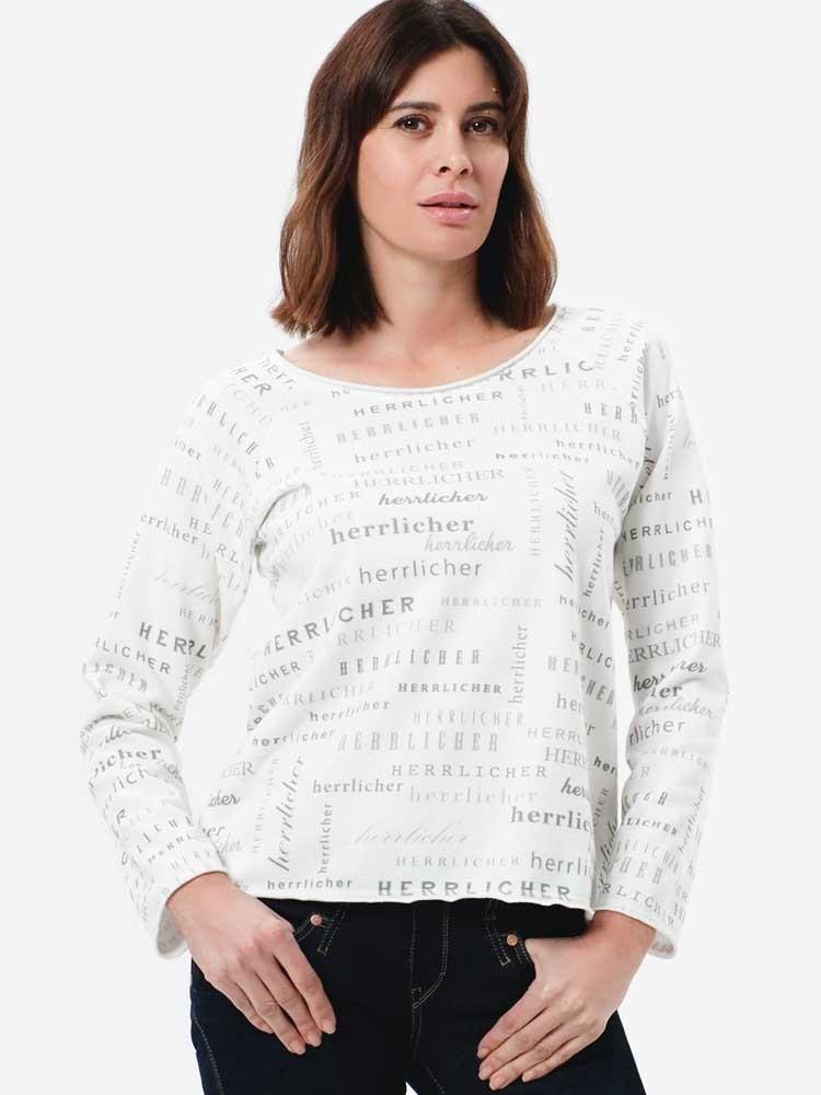 Herrlicher Freyja Sweatshirt mit All-over-Print