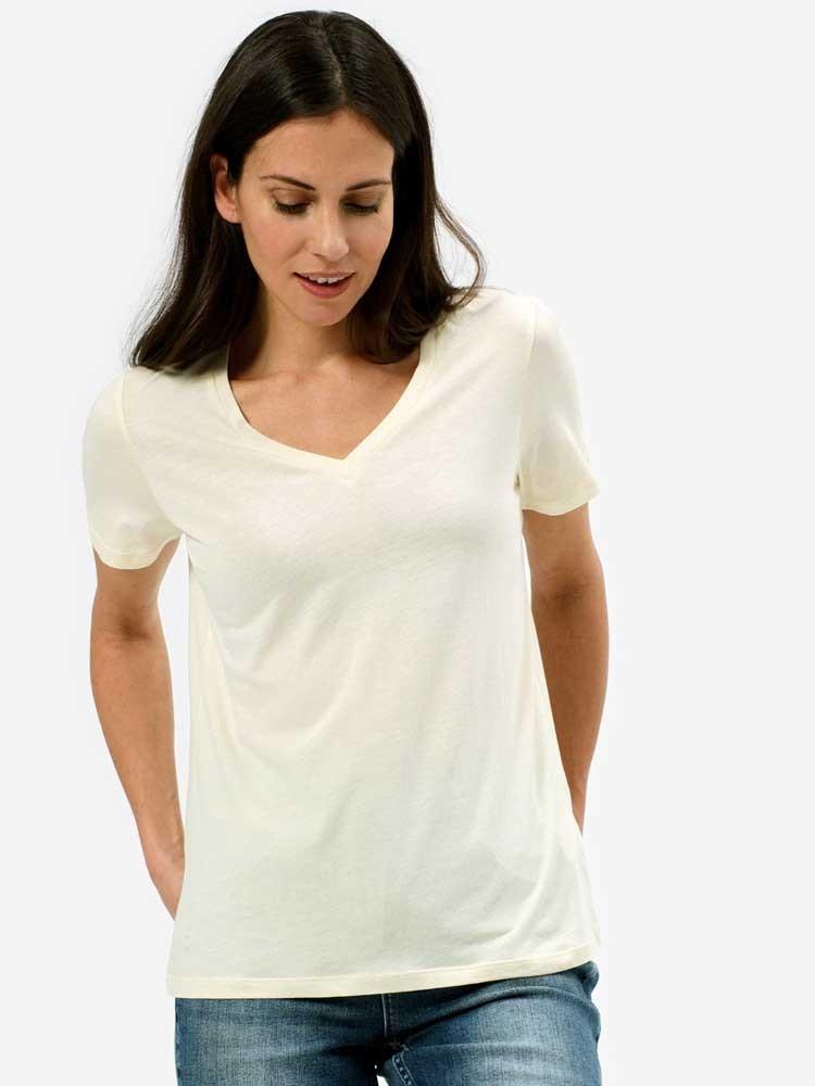 Herrlicher Joye Jersey T-Shirt aus Viskose