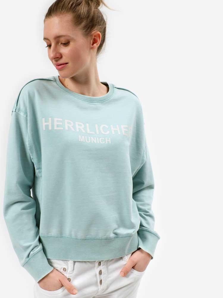 Herrlicher Carrie Sweatshirt mit Munich-Print