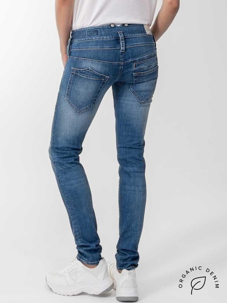 Herrlicher Pitch Slim Jeans aus Bio-Baumwolle