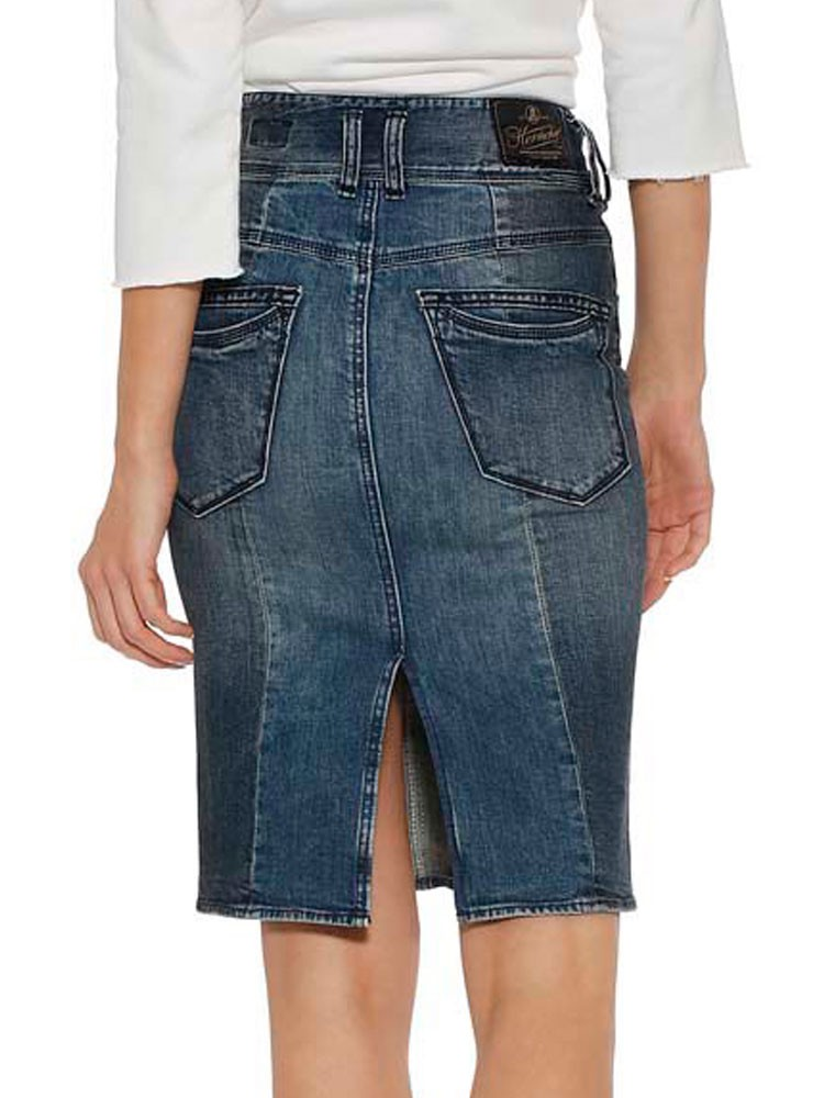 Herrlicher Raya Jeansrock Two-in-One