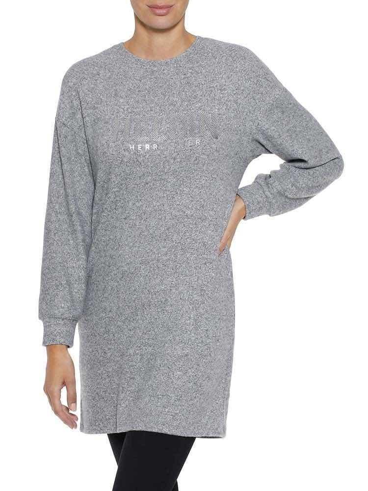 Herrlicher Kasey Jersey Kleid mit Statement Print