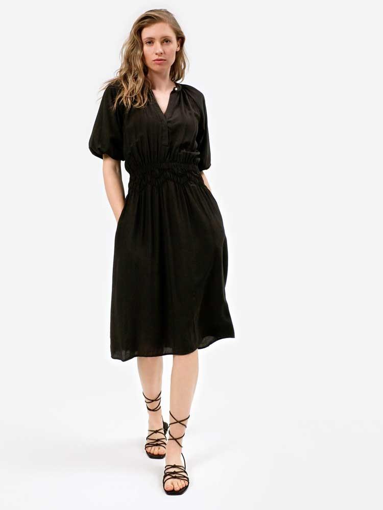 Herrlicher Rona Kleid aus Viskose-Mix