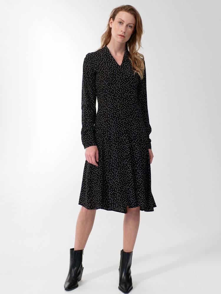 Herrlicher Dominique Kleid aus Viskose