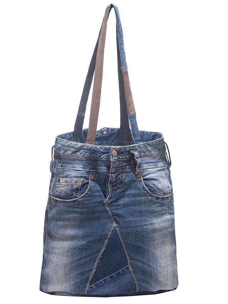 Jeanstasche Longlife Patchwork
