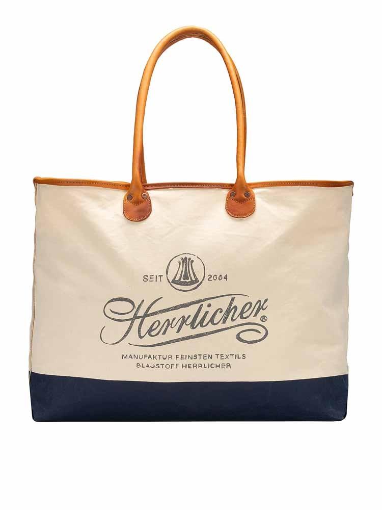 Herrlicher Girl Canvas Shopping Bag