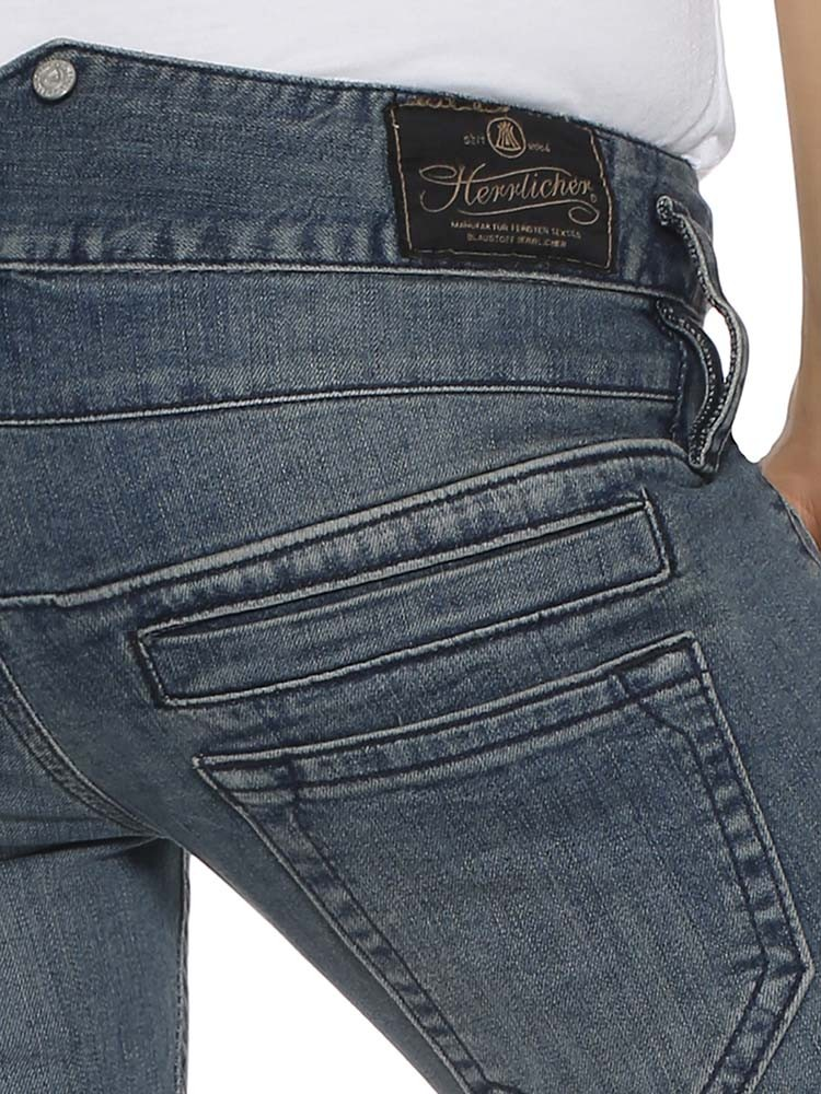 Herrlicher pitch Straight Denim d9666 710 Jeans Donna Pantaloni Nuovo