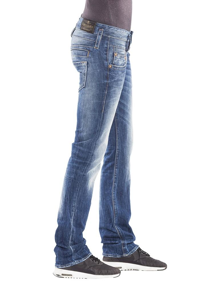 blaustoff herrlicher seit 2004 herrlicher pitch jeans blau. Black Bedroom Furniture Sets. Home Design Ideas