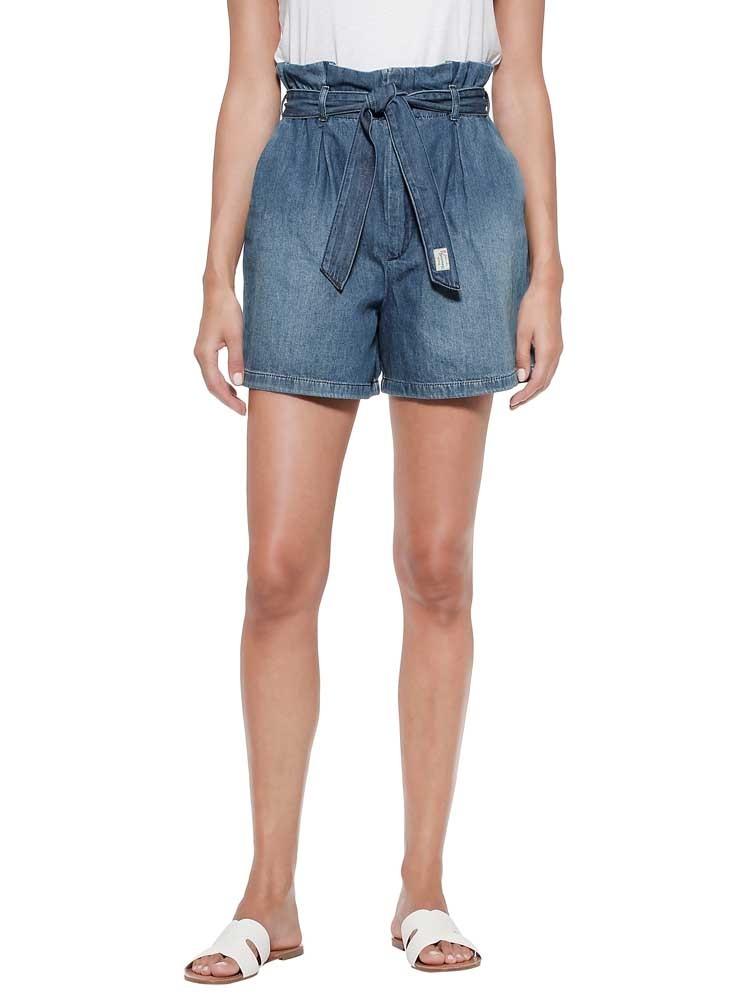 Herrlicher Comfy Jeansshorts im Paperbag Style