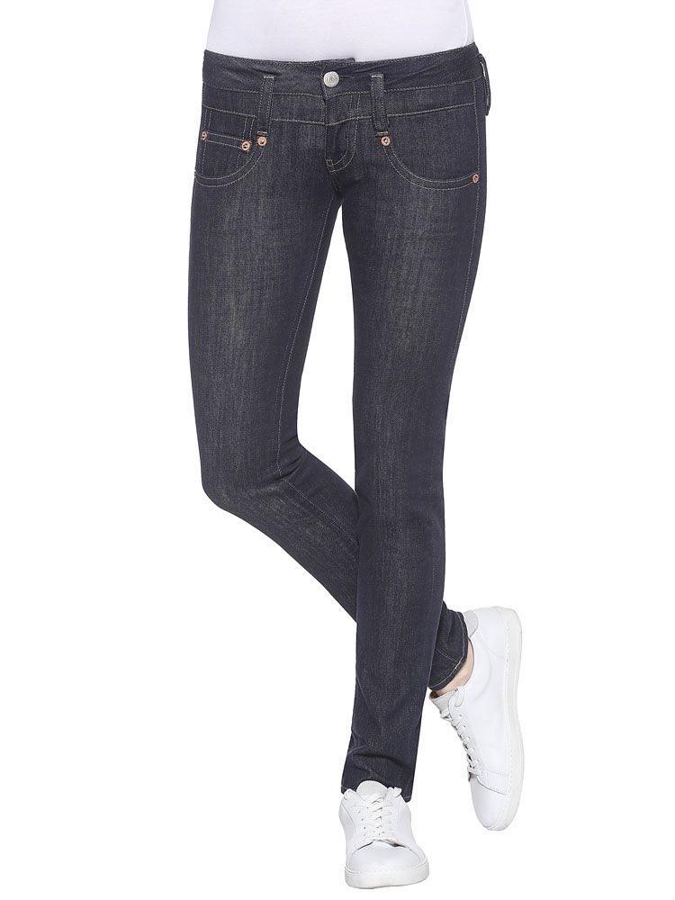 Herrlicher Pitch Slim Stretch Jeans dunkelblau