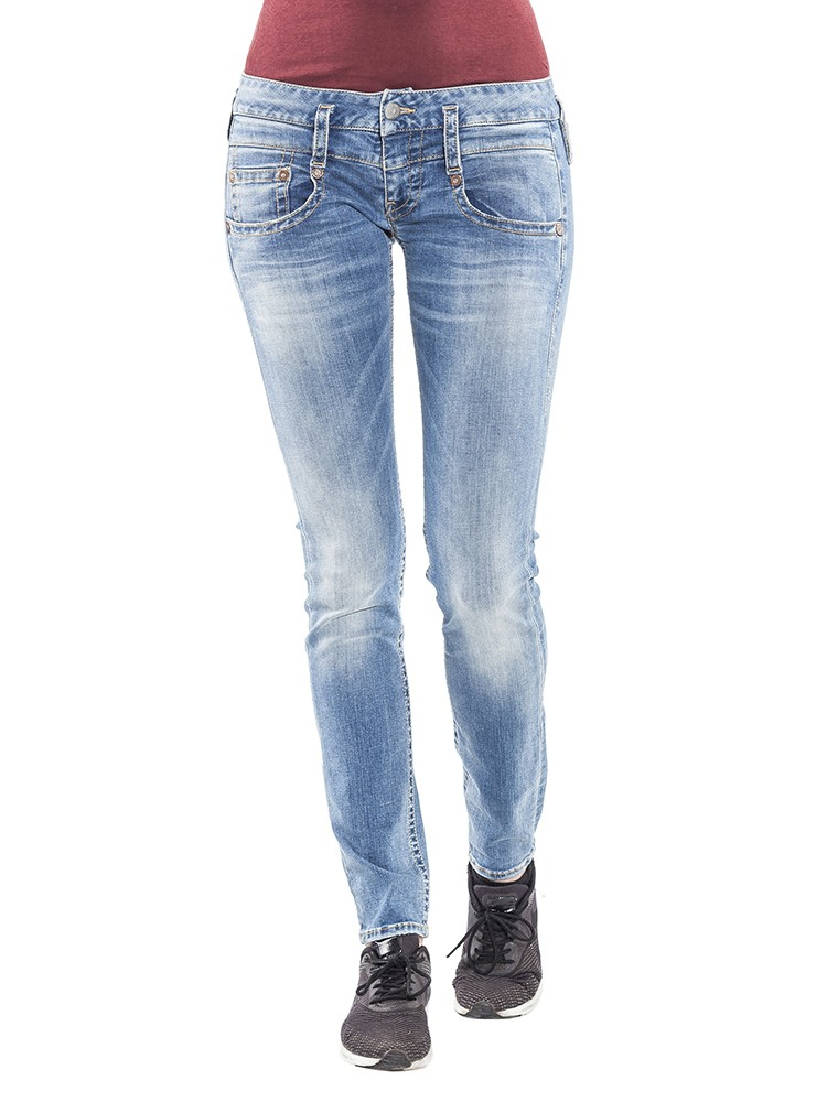 Herrlicher Pitch Slim Denim Stretch vorne