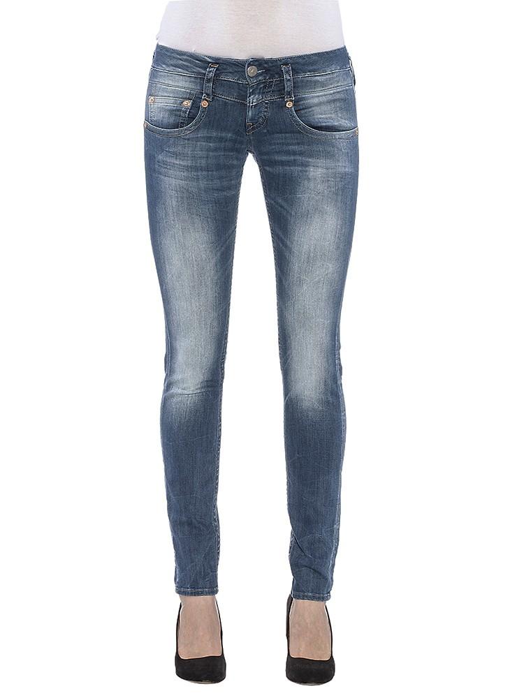 Herrlicher Pitch Slim Denim Powerstretch Jeans blau vorne
