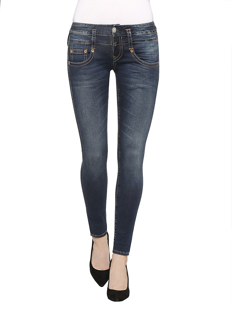 Herrlicher Pitch Slim Denim Powerstretch Jeans blau