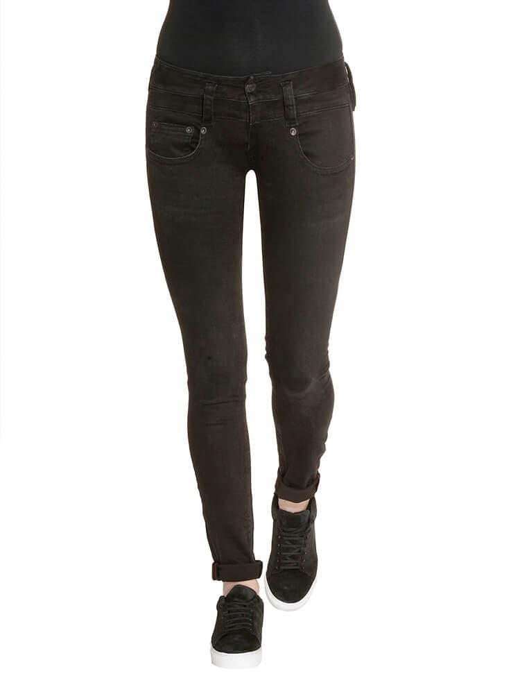 Herrlicher Pitch Slim Denim Black Stretch Jeans schwarz