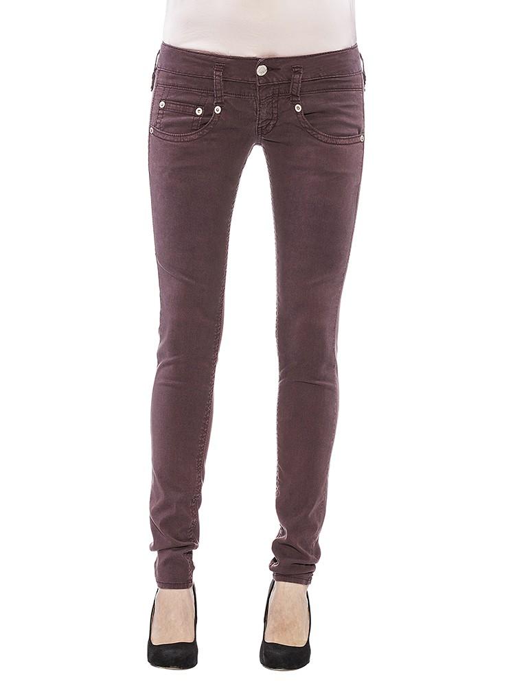 Herrlicher Pitch Slim Gabardine Stretch Jeans henna vorne