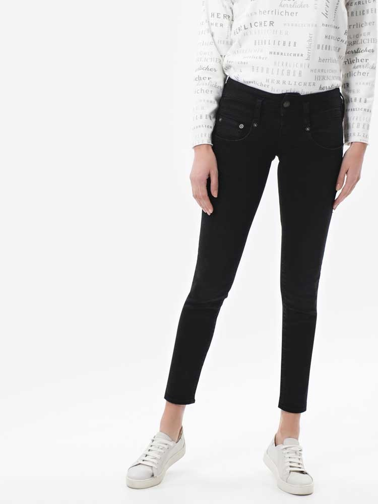 Herrlicher Pitch Slim Black Stretch Jeans