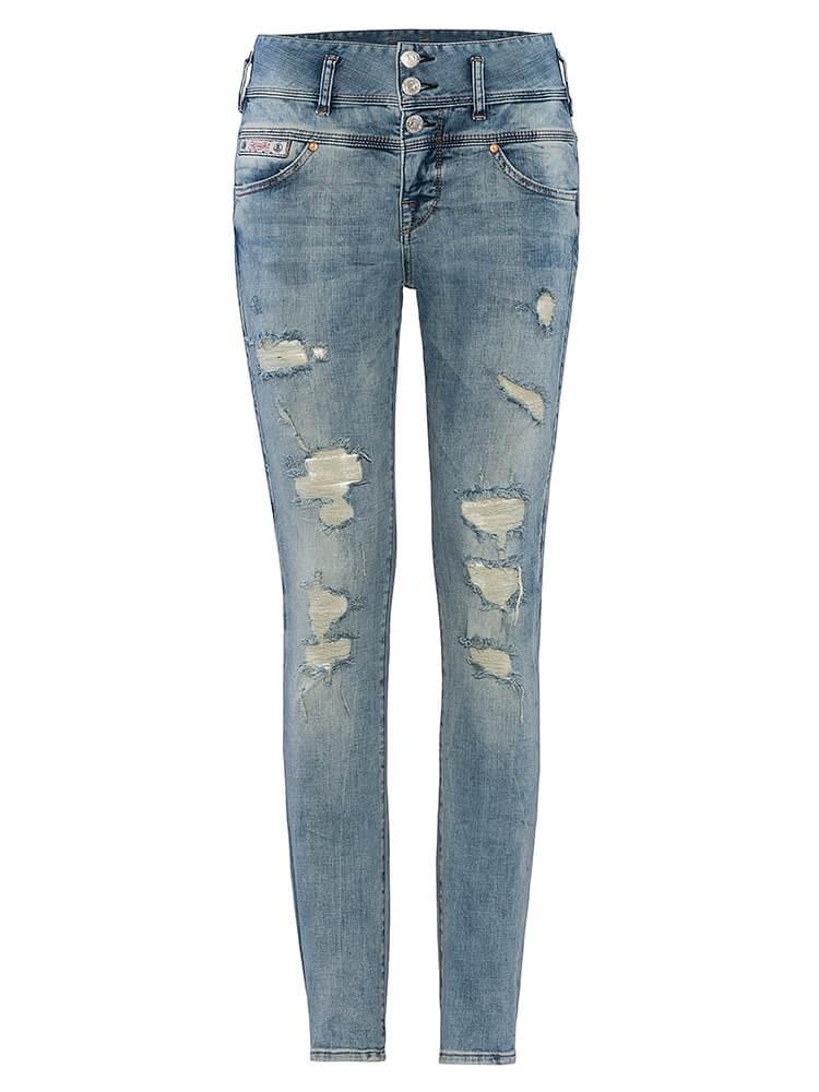 Herrlicher Raya Boyfriend Jeans destroyed