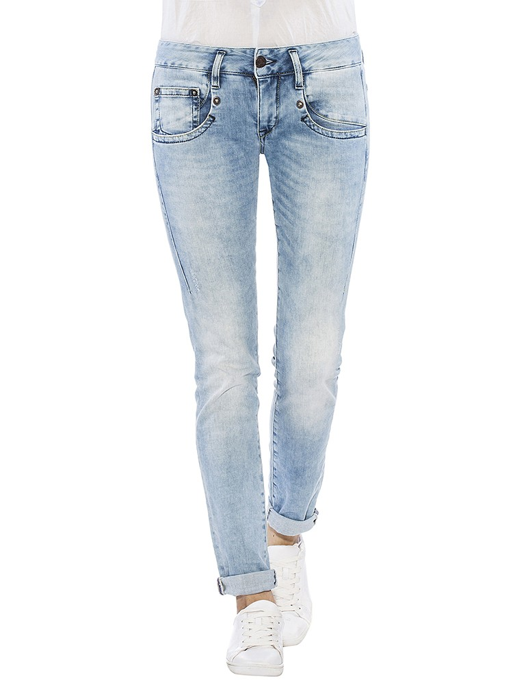 Herrlicher Shyra Slim Denim Stretch Jeans vorne