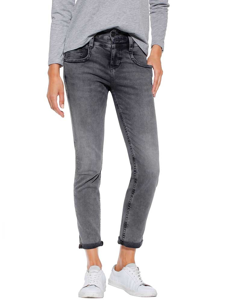 Herrlicher Pitch Mom Stretch Jeans Black