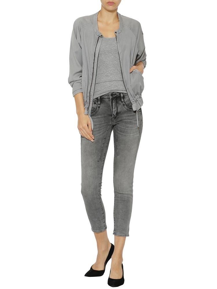 Herrlicher Shyra Cropped Jeans Black