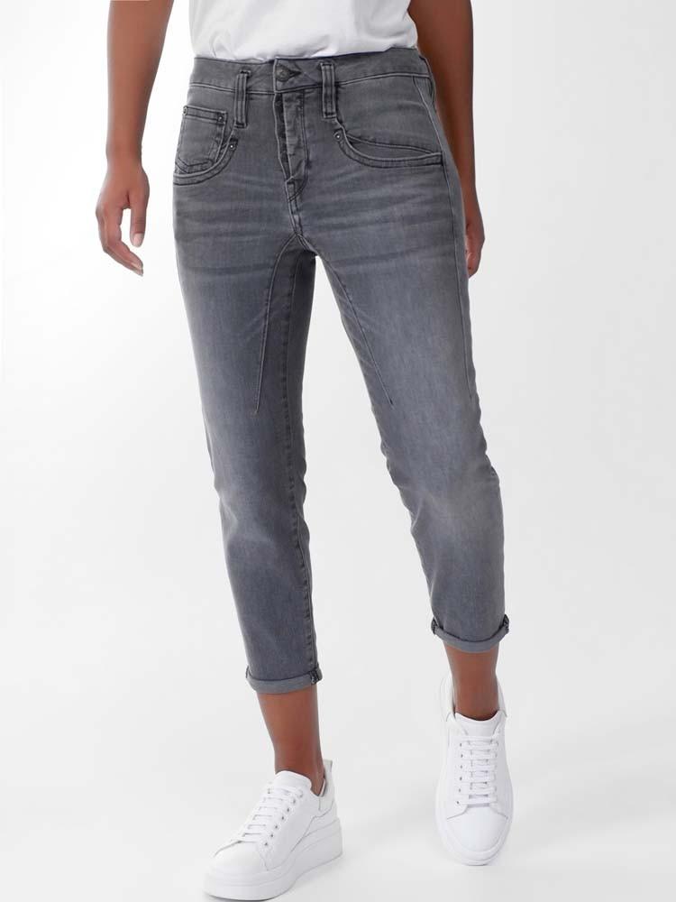 Herrlicher Shyra Cropped Jeans mit Cashmere Touch