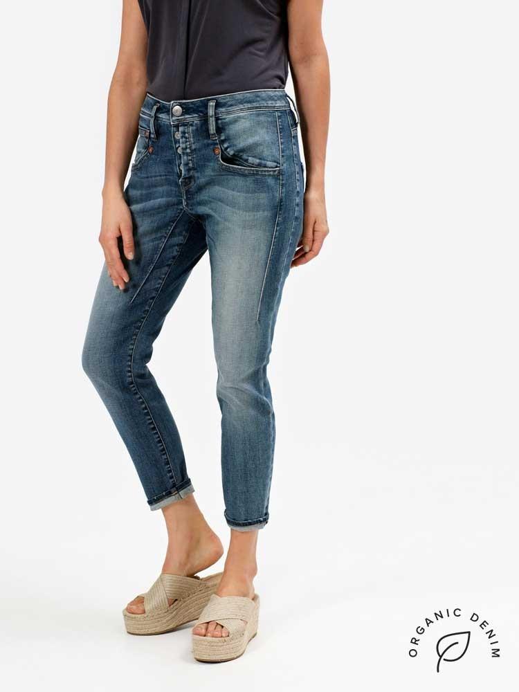 Herrlicher Shyra Cropped Jeans aus Bio-Baumwolle