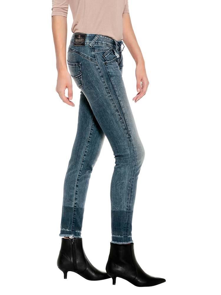 Herrlicher Gila Slim Cropped Jeans