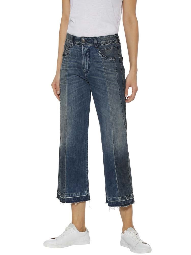 Herrlicher Gila Sailor Cropped Jeans Two-in-One
