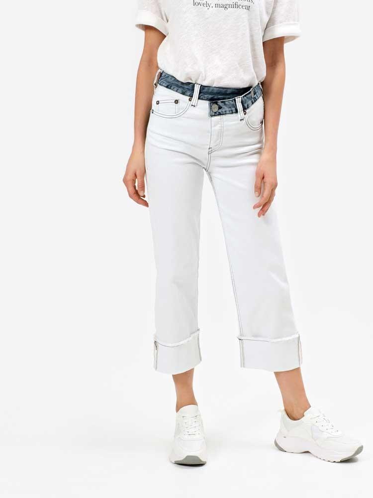 Herrlicher Mäze Jeans zweifarbig