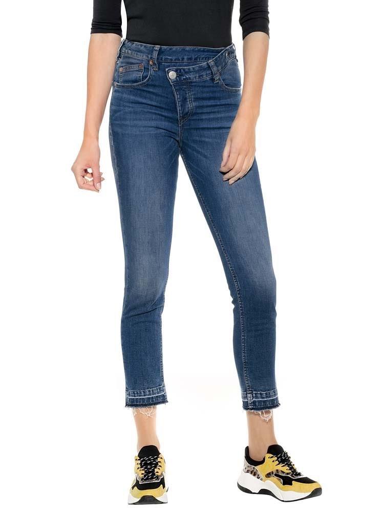 Herrlicher Mäze Slim Cropped Jeans