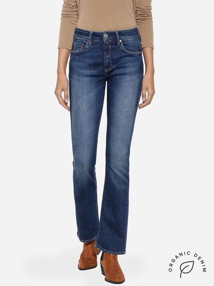 Herrlicher Super G Bootcut Jeans aus Bio-Baumwolle