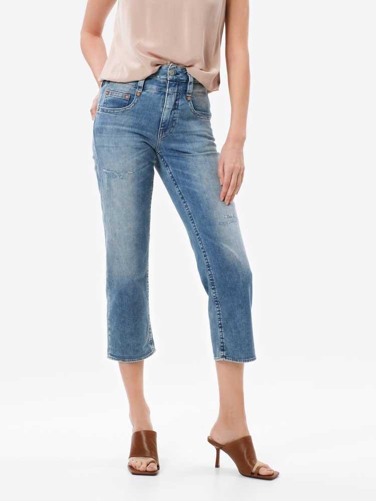 Herrlicher Pitch HI Tap Jeans mit Cashmere-Touch