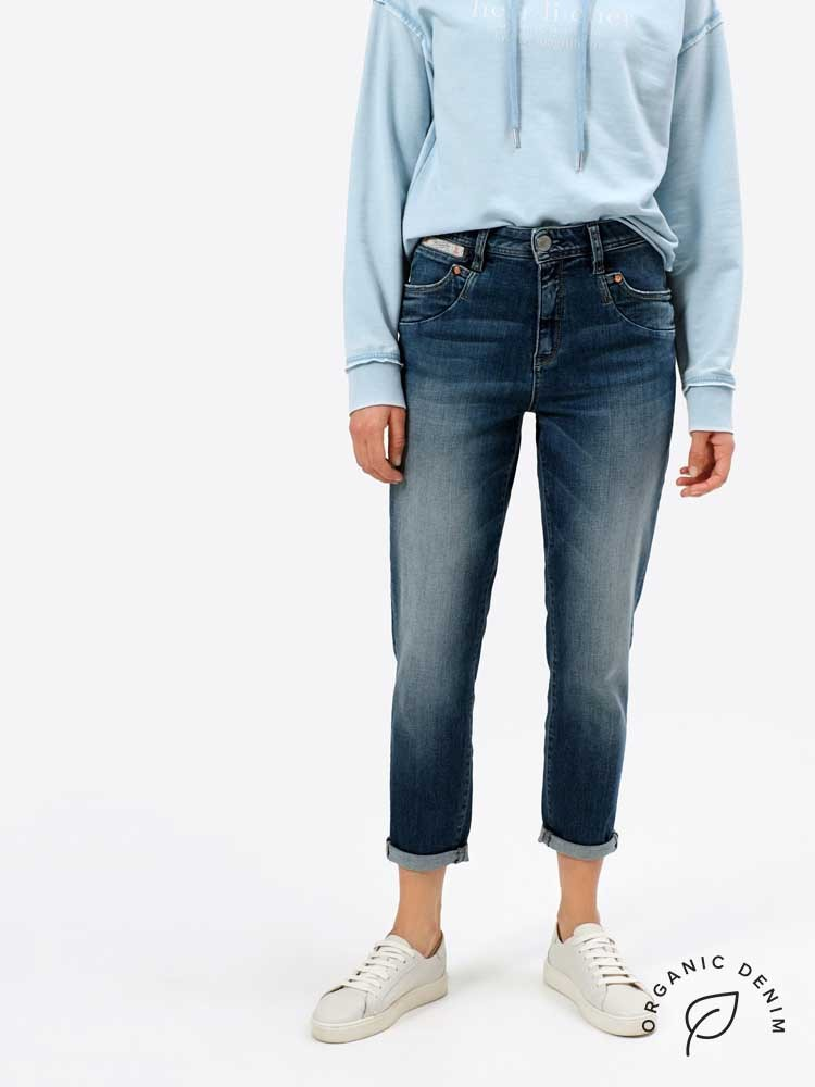Herrlicher Piper HI Conic Jeans aus Bio-Baumwolle
