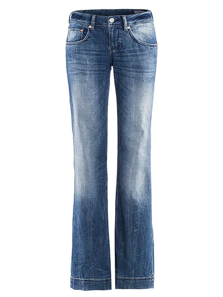 Herrlicher Judie Stretch Jeans mit Schlag