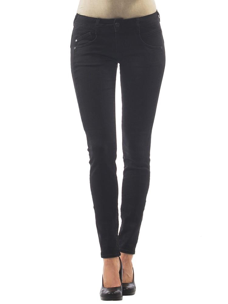 Herrlicher Gila Slim Denim Black Stretch Jeans