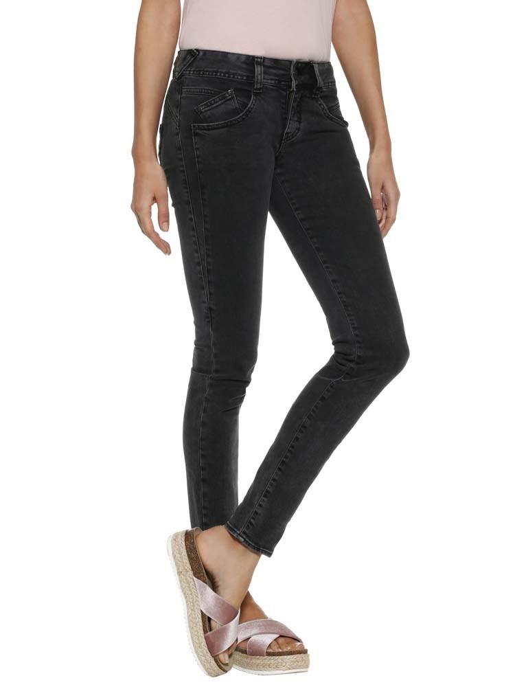 Herrlicher Gila Slim Black Jeans