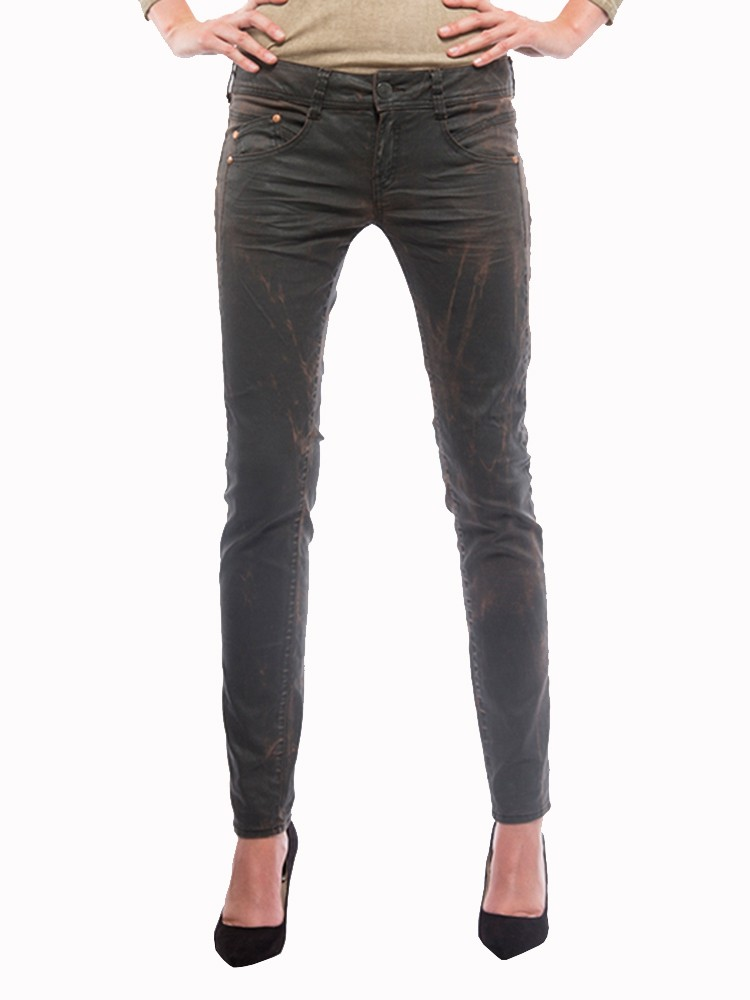 Herrlicher Gila Slim Coated Stretch